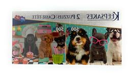 keepsakes deluxe puzzle 2 pack two 500