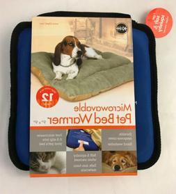 KH Microwavable Dog Cat Pet Bed Warmer Heater up to 12 hrs W