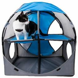 Pet Life Kitty-play Obstacle Travel Collapsible Soft Folding