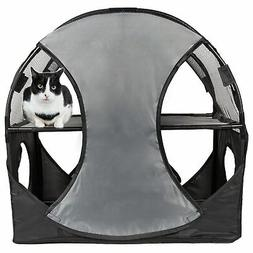 Pet Life Pet Life Kitty-Play Obstacle Travel Collapsible Sof