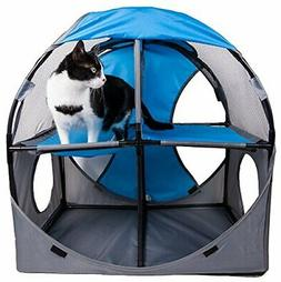 PET LIFE 'Kitty-Play' Collapsible Travel Interactive Kitty C