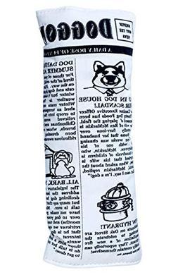 Pet Qwerks Krinkle and Squeak Newspaper Toy