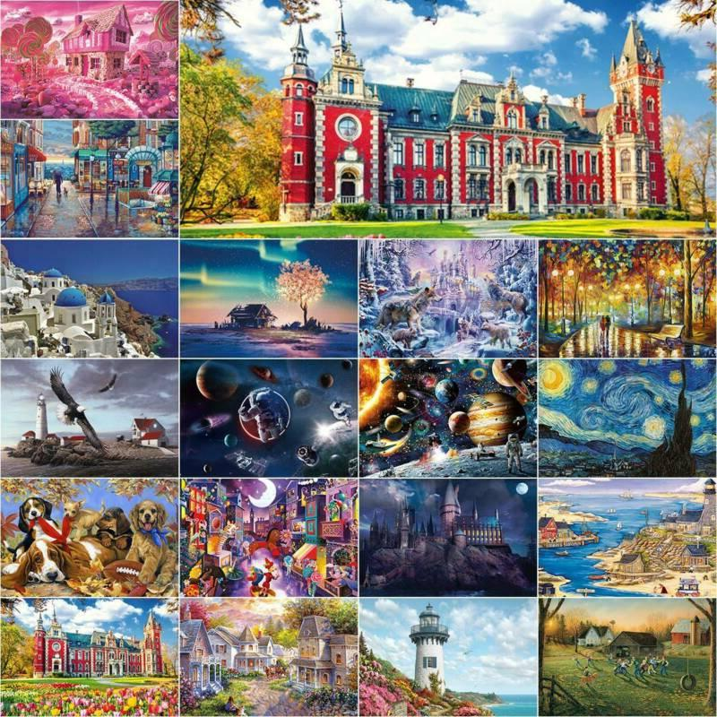 1000 pieces jigsaw puzzles for adults kids