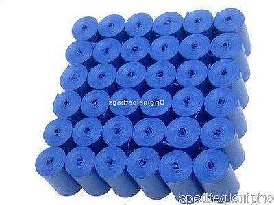 1012 blue scented poop bags pet waste