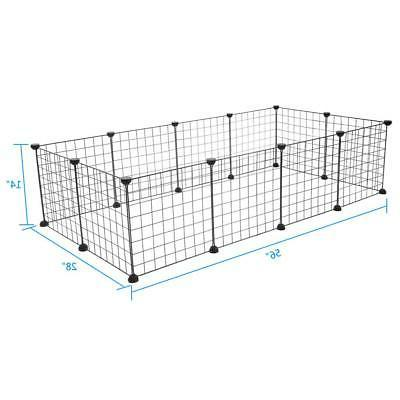 12 Metal Panels Dog Playpen Crate Pet Cage