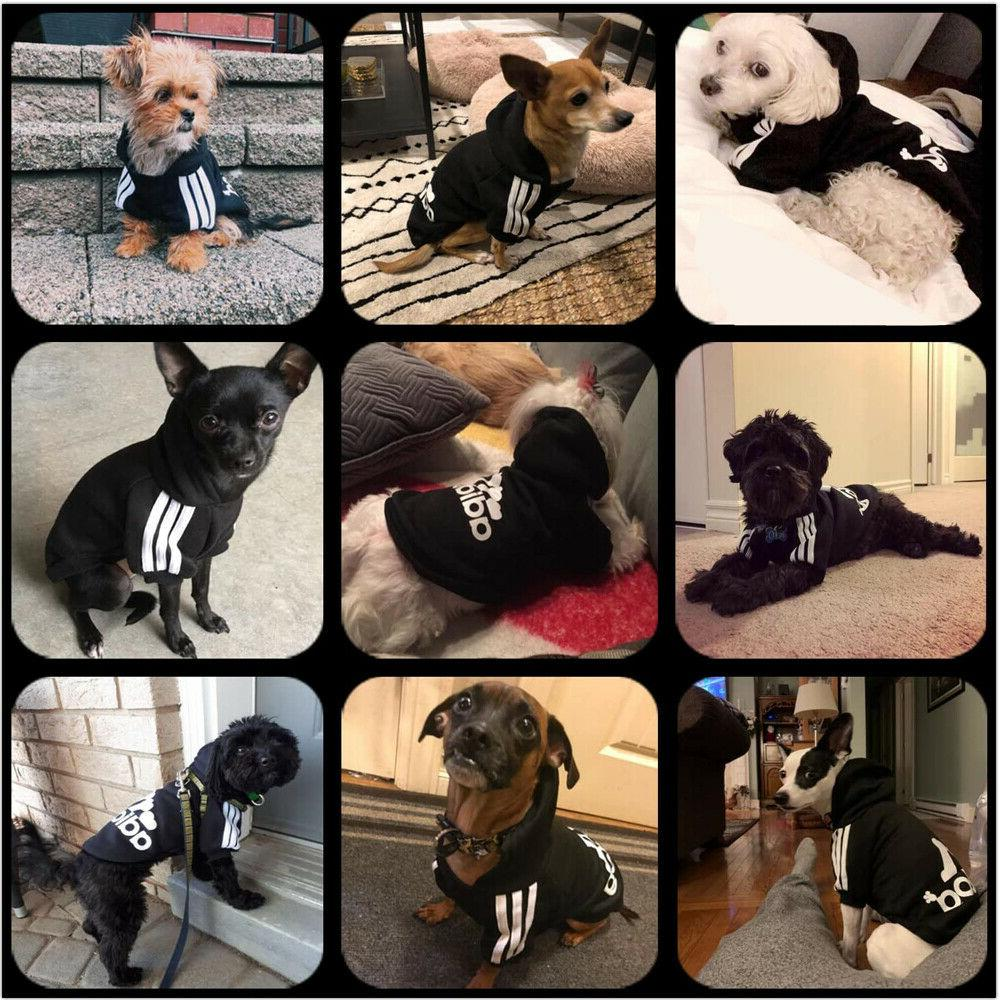 2 Leg Pet Clothes Hoodie Sweatshirt Cat Coat Jacket