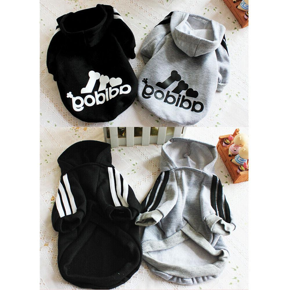2 Clothes Hoodie Sweatshirt Puppy Jacket