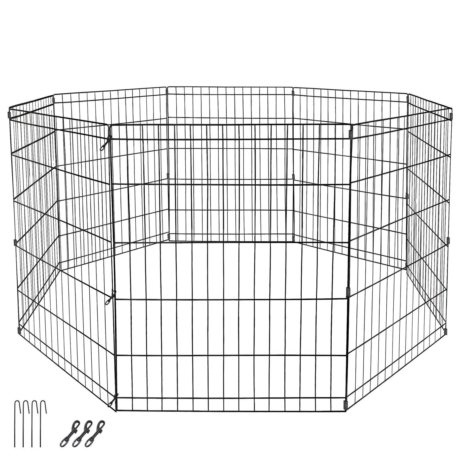 24 dog playpen crate 8 panel fence