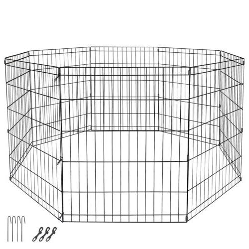 30 Crate Pet Pen Exercise Cage