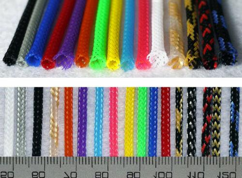 3mm braided cable sleeving sheathing auto wire