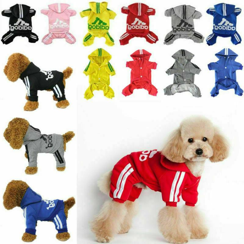 4 Leg Clothes Cat Puppy Winter Hoodies Sweater Jacket Clothing