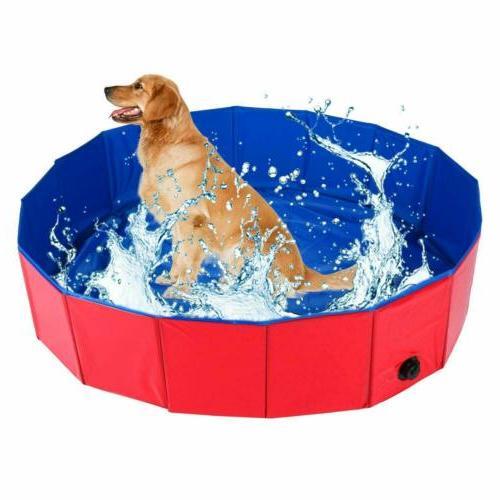 Dog Puppy Cat Pool Pet Bath Pool Tub