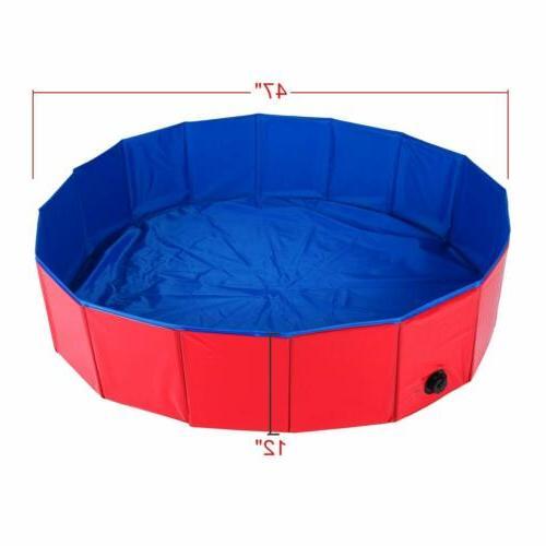 47'' Pool Collapsible PVC Pool Kiddie Foldable