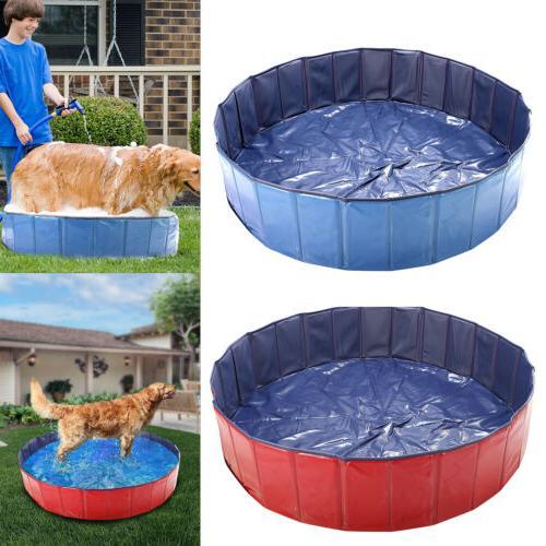 "48"" 63"" Foldable Bath Pool Pet For Dog"