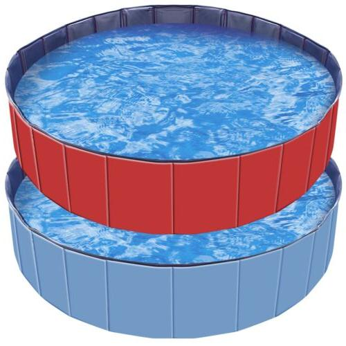 """48"""" 63"""" Bath Pool Collapsible Dog Pool Tub For Cat"""