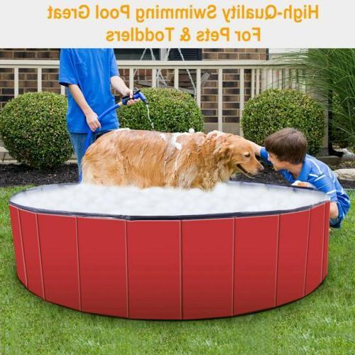 "48"" 63"" Foldable Bath Pool Bathing For Dog"