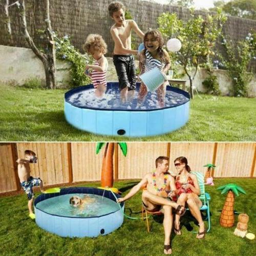 "48""63"" Foldable Pool Bath Collapsible Pool Kid"