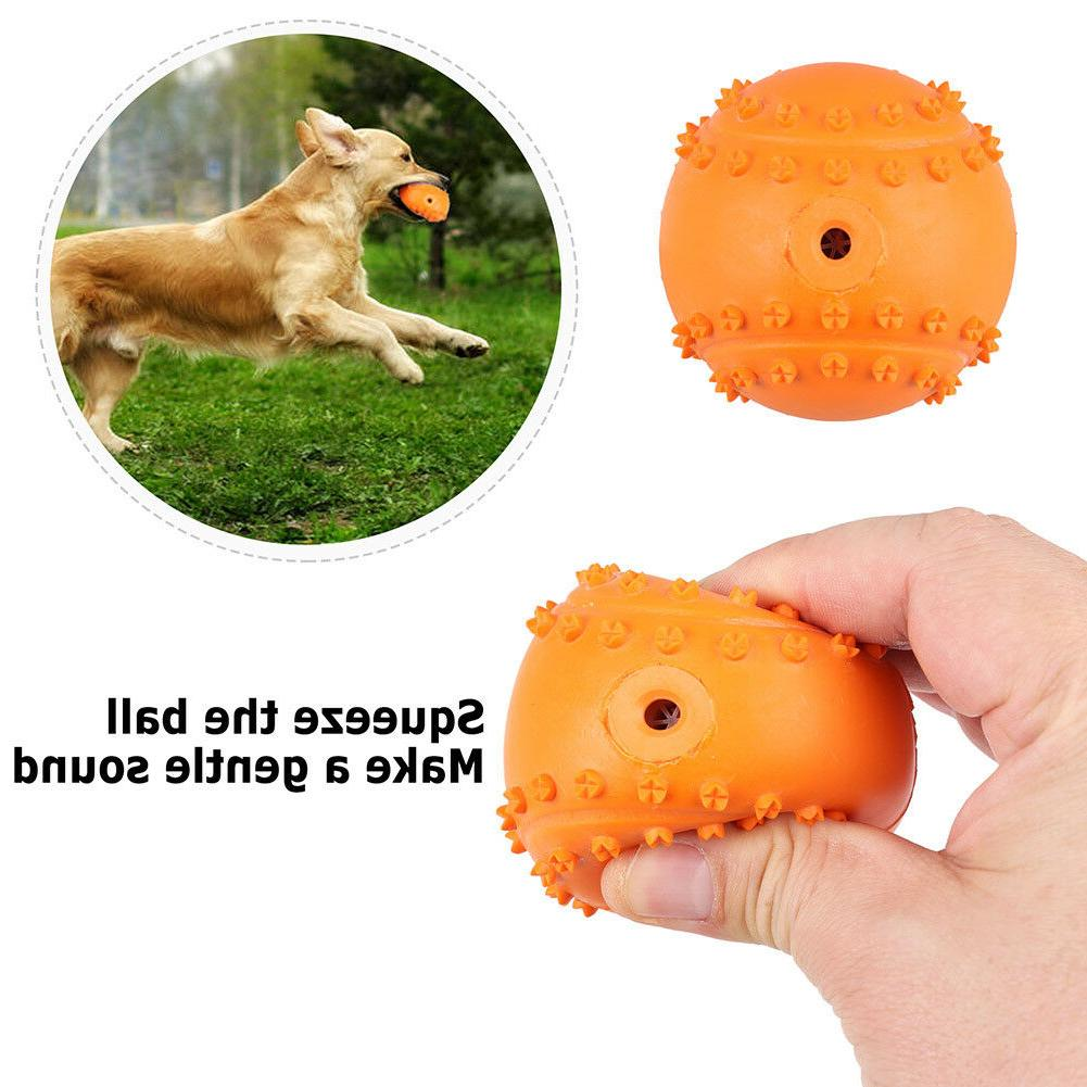 4pcs Pet Dog Tumbler Feeder IQ Treat Ball Toys