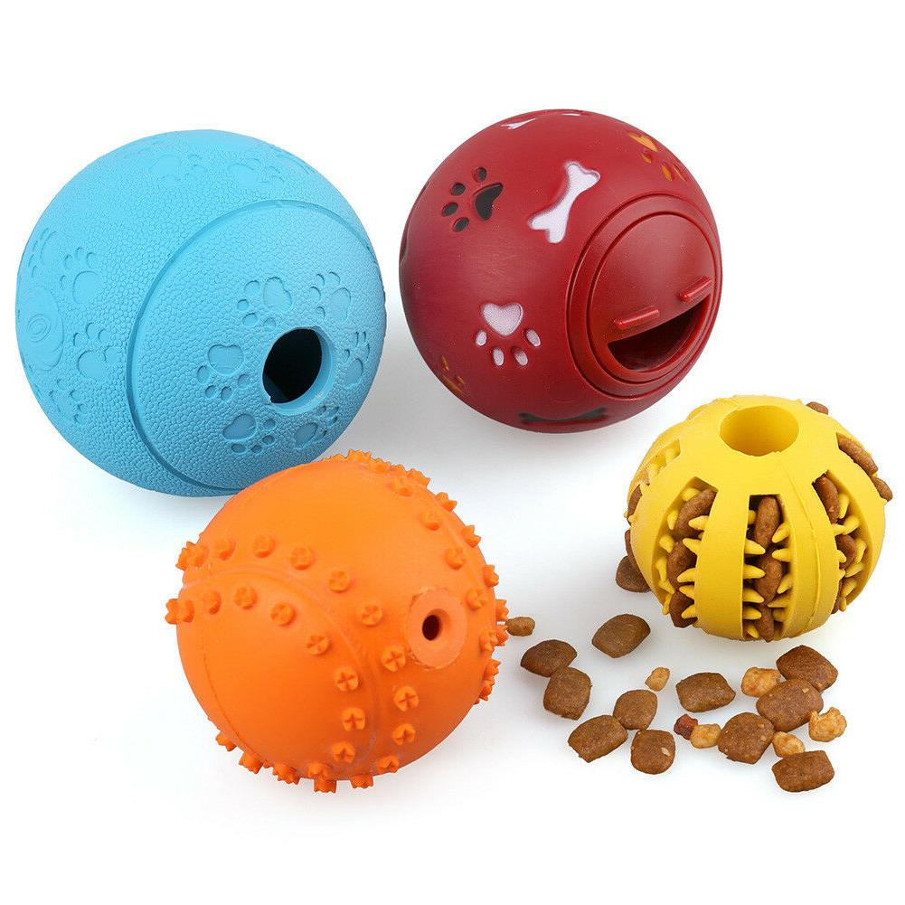 4pcs Pet Dog Tumbler Dispenser IQ Treat Toys