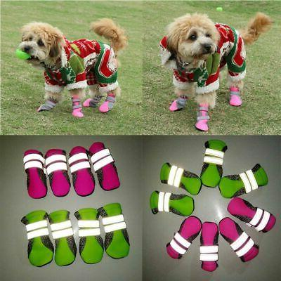 Dog Boots Paw Protector Shoes Adjustable