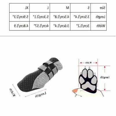 Dog Protector Shoes With Adjustable Strap Anti-Slip