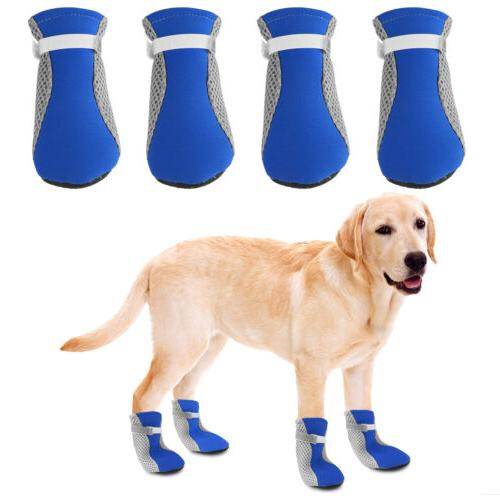 4pcs Winter Dog Protective