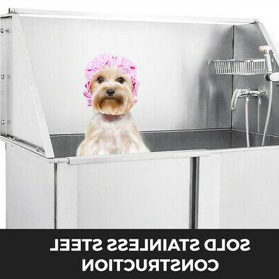 50'' Pet Dog Grooming Steel Wash Salon