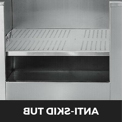 50'' Grooming Bath Steel Wash Salon