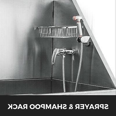 50'' Dog Grooming Steel Salon