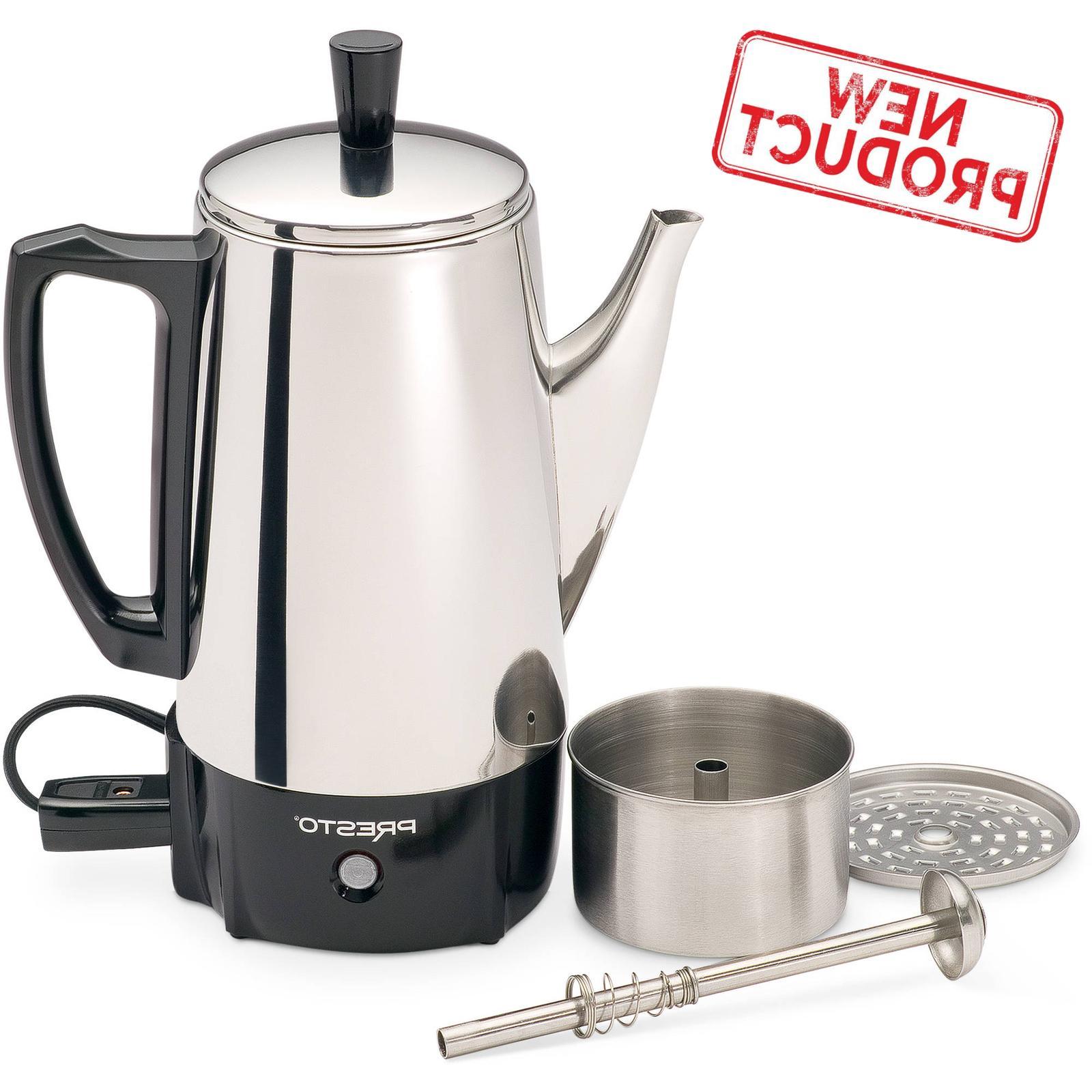 6 cup coffee percolator coffee maker pot