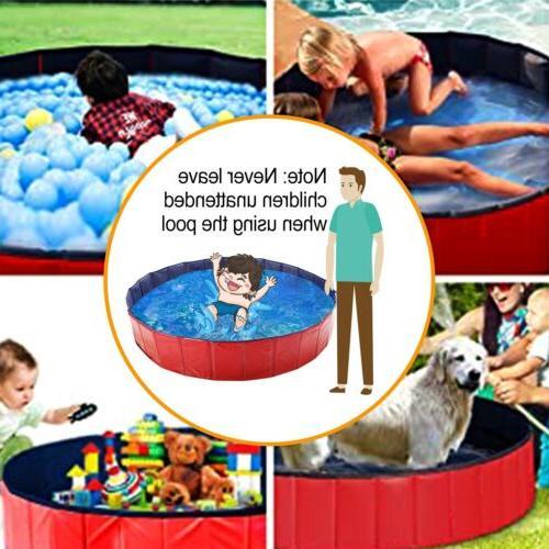 """63"""" 48"""" Puppy Bath Swimming Pool Bathing"""