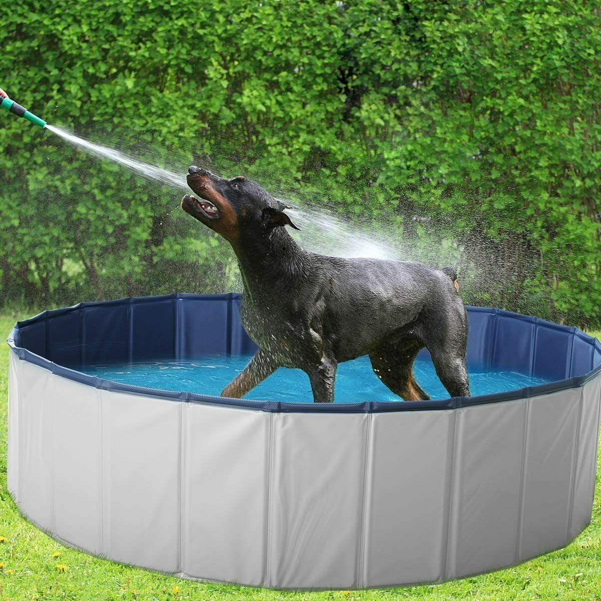 63 outdoor pet dog pool pvc foldable