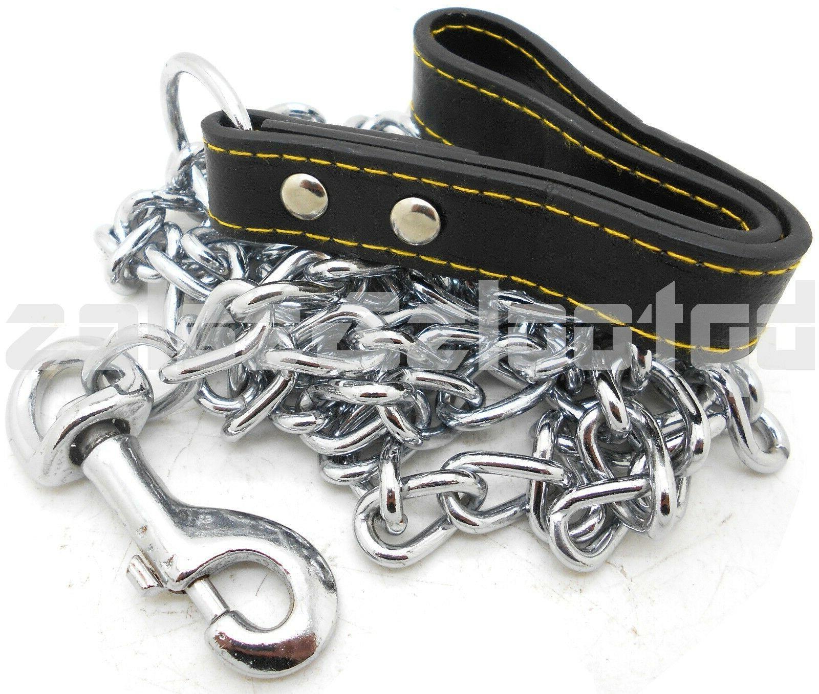 72 heavy duty chrome chain dog pet