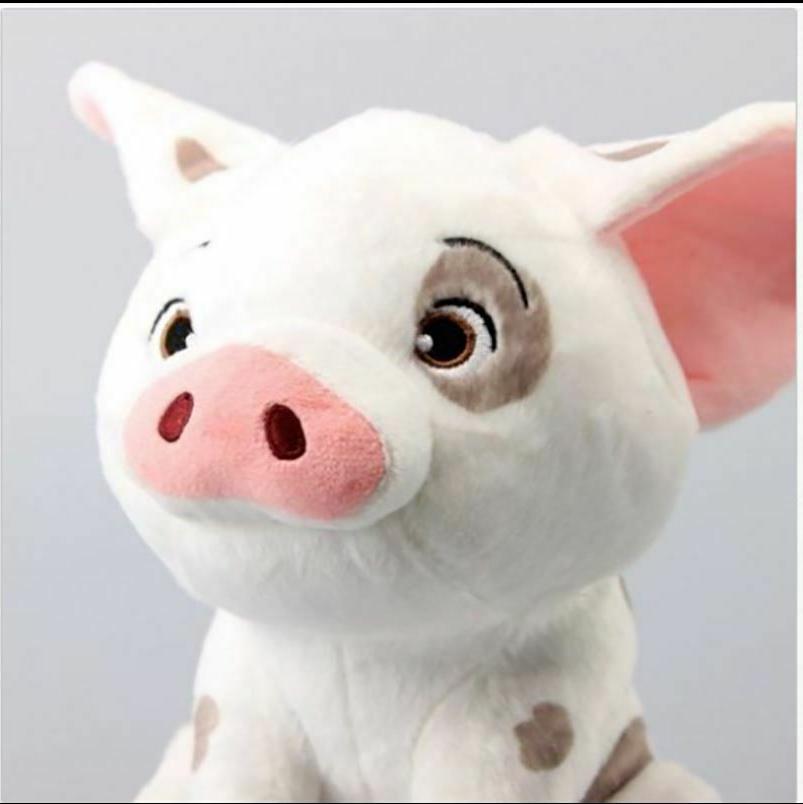 8 moana pet pig pua stuffed cartoon