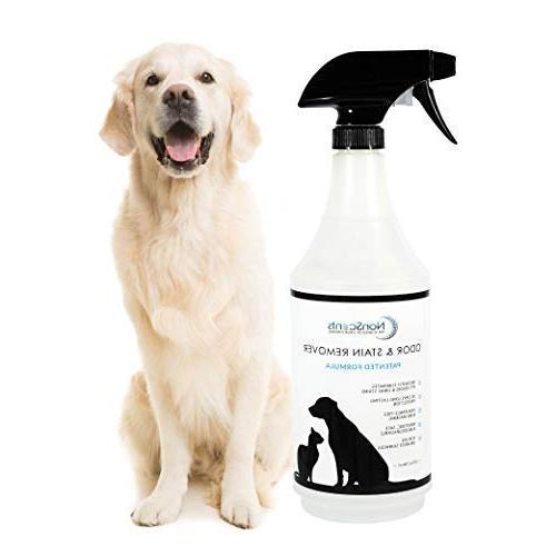NonScents Pet Stain Remover Spray - Odor Eliminator and Cat