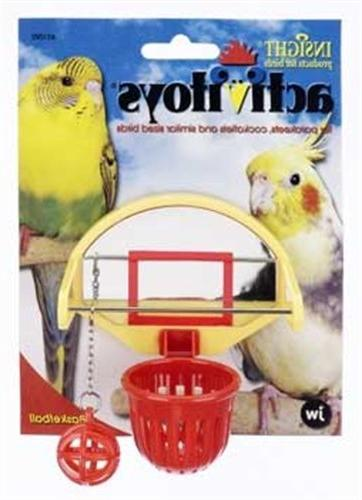 activitoys birdie basketball bird toy