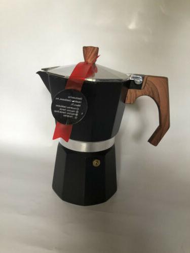 aluminum italian espresso moka coffee maker percolator