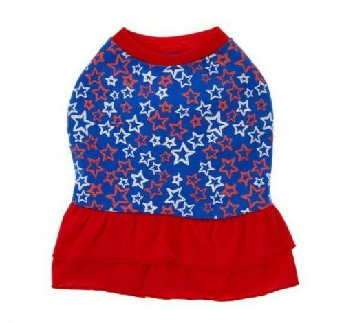 Top Americana Stars Pet Dress