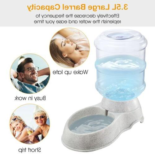Automatic Water Dispenser Cat Drinking Bowl Large