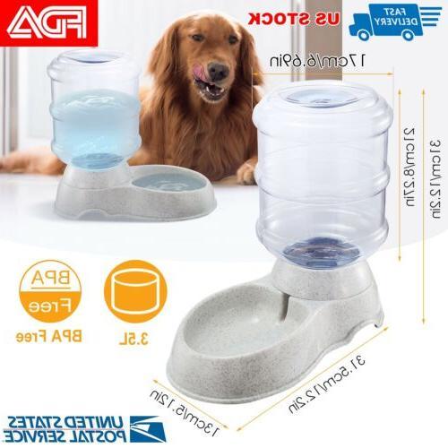 automatic water 1 gallon dispenser dog cat