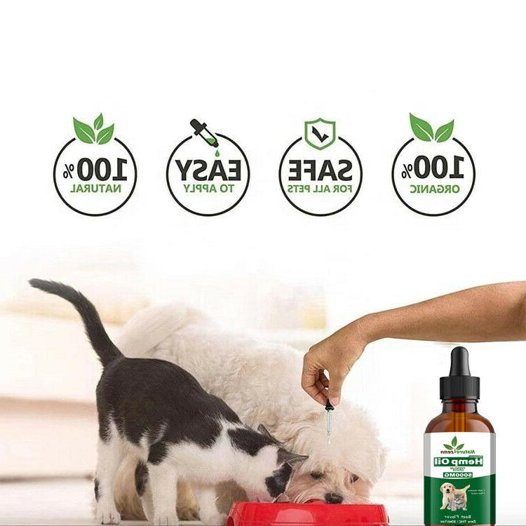 Beef -Hemp for Cats Pets - Calming -100% Organic