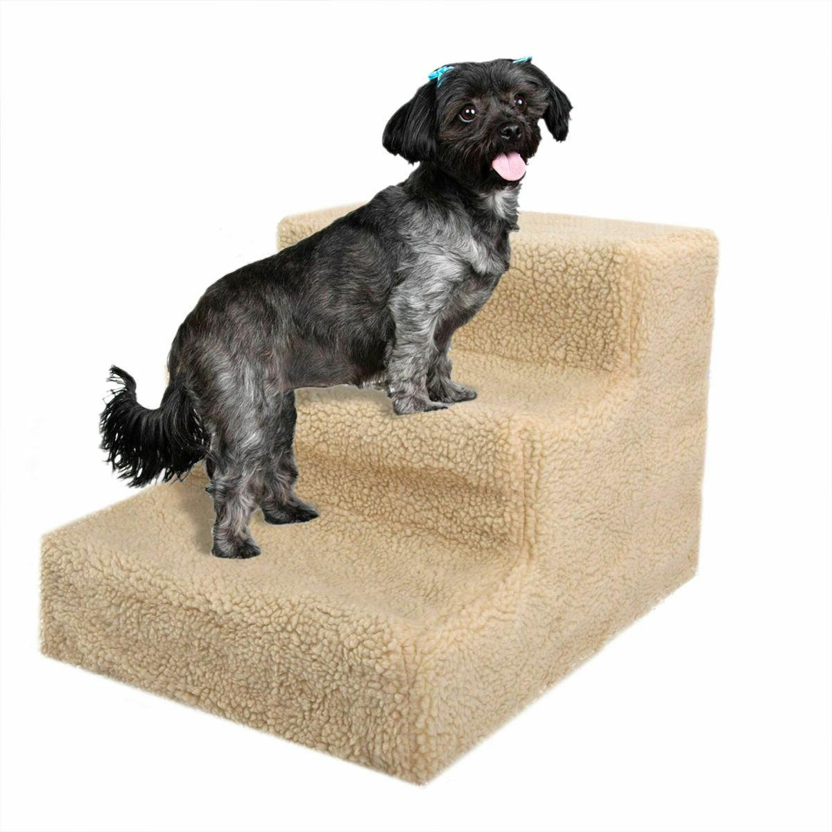 Beige Stairs 3 Dog Cat Washable Cover