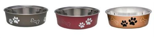 bella pet bowl lrg by mfrpartno 7406lbm