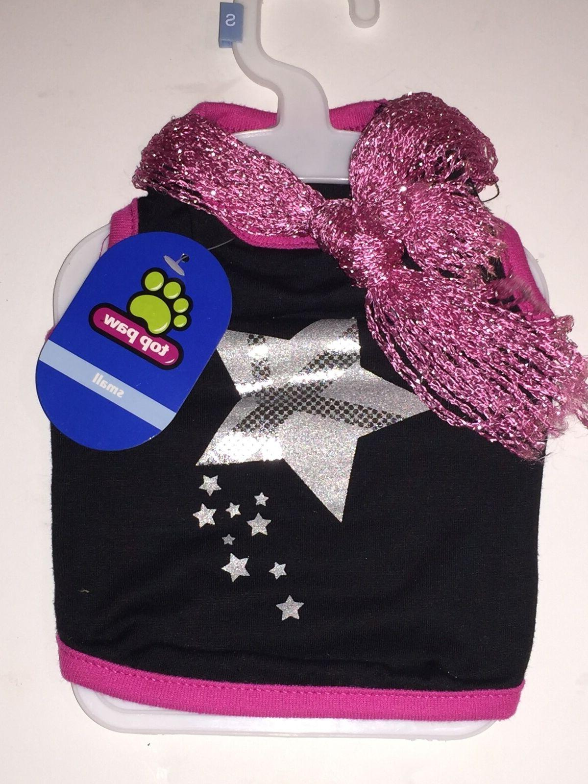 black and pink pet shirt with fashion