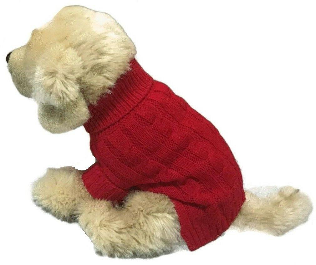 Le Petit Brand Small Dog Sweater Clothing