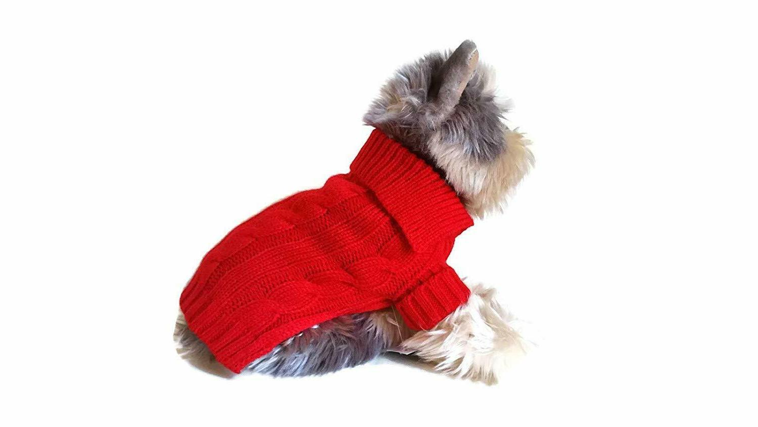 Le Petit Small Dog Sweater Puppy Clothing Supply