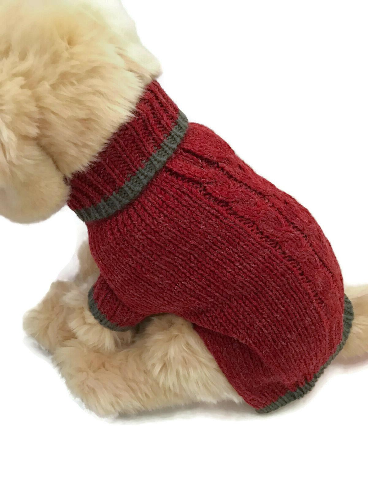 Le Petit Chien Small Sweater Clothing Pet Supply