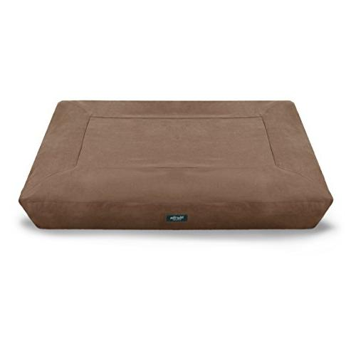 brushed canvas mattress pet bed