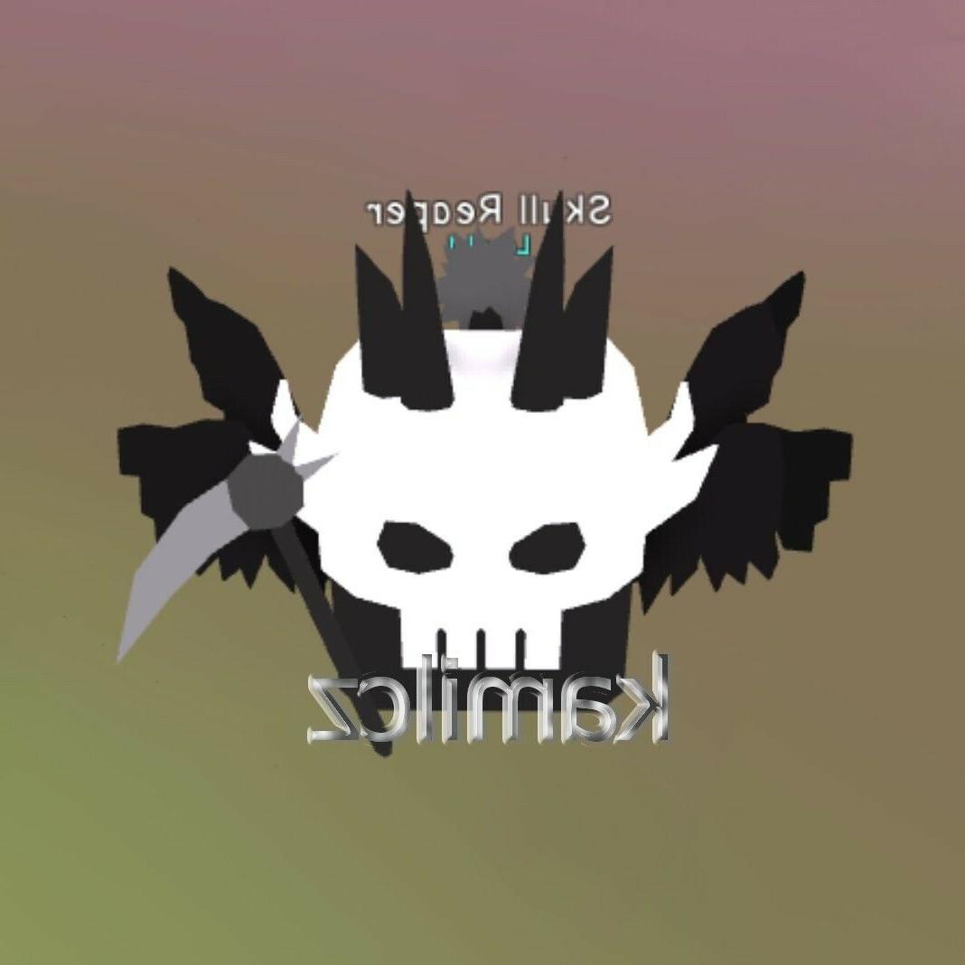 bubble gum simulator 1x skull reaper virtual