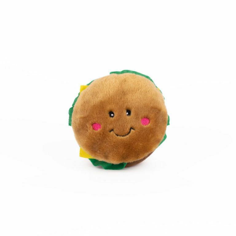 "Burger Nomnomz Toy Soft 4.5"" Paws"
